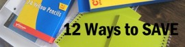 12 ways school copy