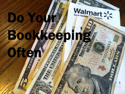 Frugal Friday: Do Bookkeeping Often