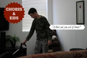 chores and kids