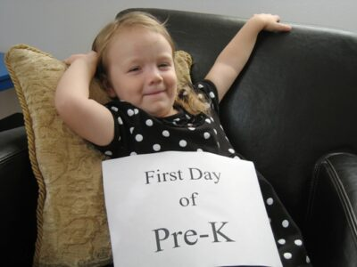 first day pre-k