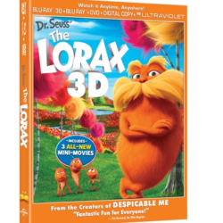 Win The Lorax and Despicable Me