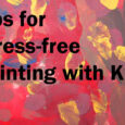 tips for stress free painting with kids