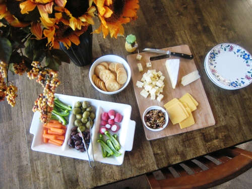 An Easy Fall Feast (URS: Fall Favorites)