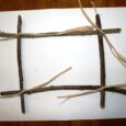 diy, photo frame, sticks, fall