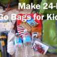 Make 24 hour go bags for kids