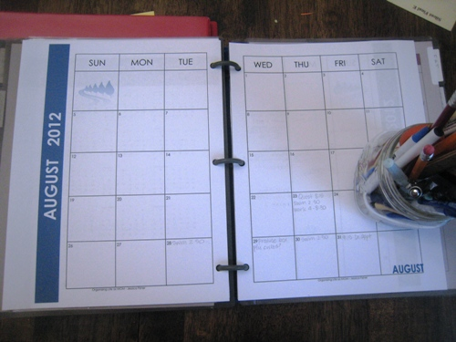 Why You Should Create a Household Notebook or Personal Planner