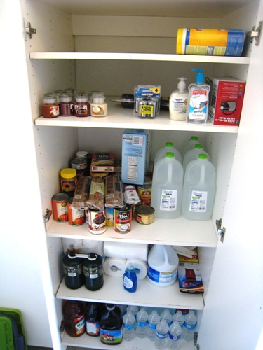 emergency cupboard