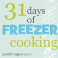 31 days of freezer cooking button