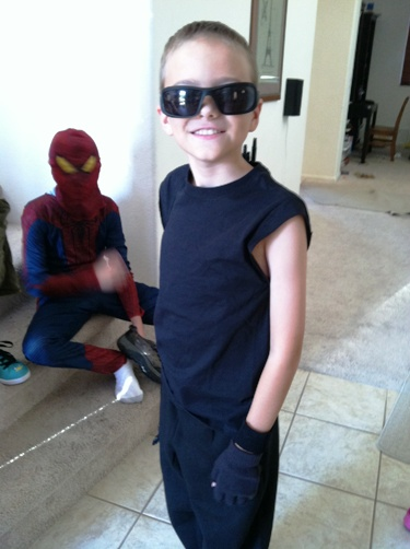 Last Minute Costume Idea Hawkeye From The Avengers