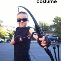 Last Minute Costume Idea: Hawkeye from the Avengers