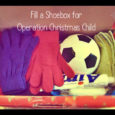 fill a shoebox for operation christmas child