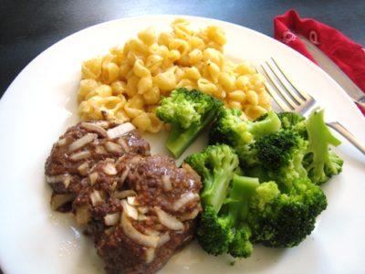 mini meatloaf and mac