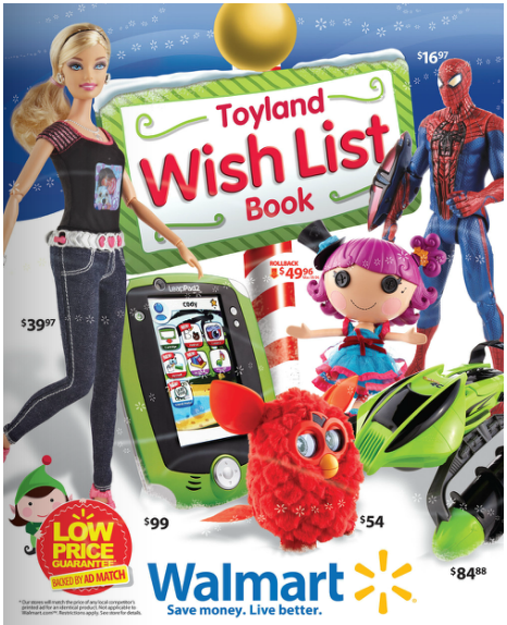 A Christmas Wish List Giveaway from Walmart