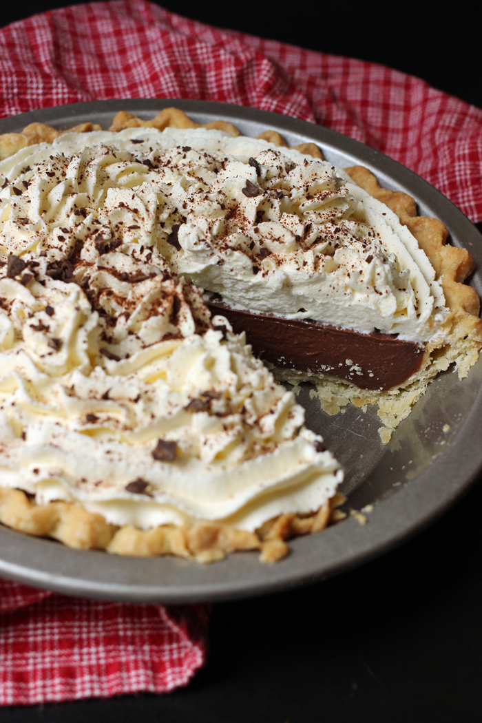 Chocolate Cream Pie | Jessica Fisher