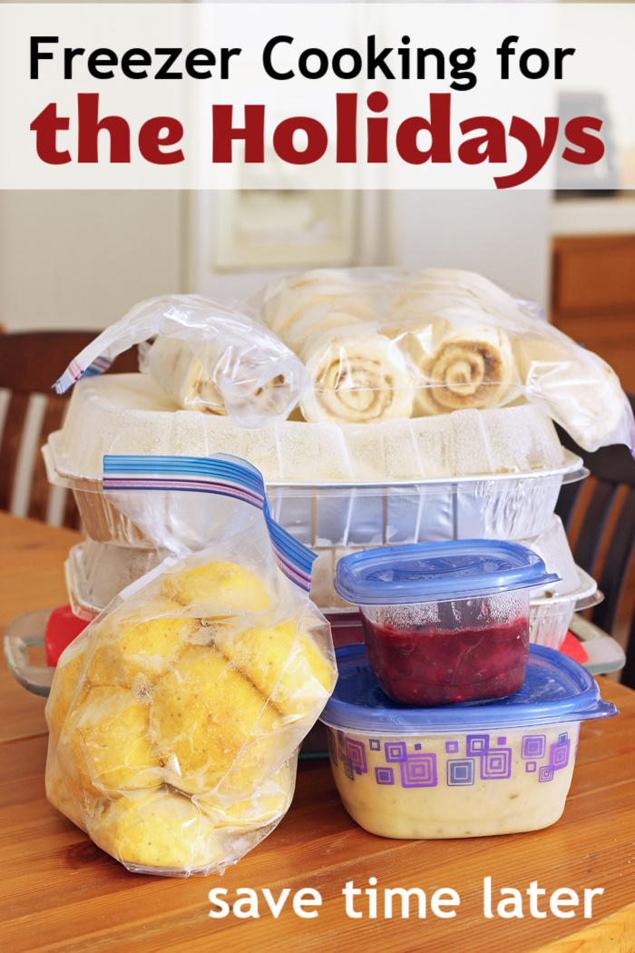 Freezer Cooking for the Holidays | Life as Mom