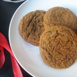 Gingerbread Crinkles (Ultimate Recipe Swap: Cookies)