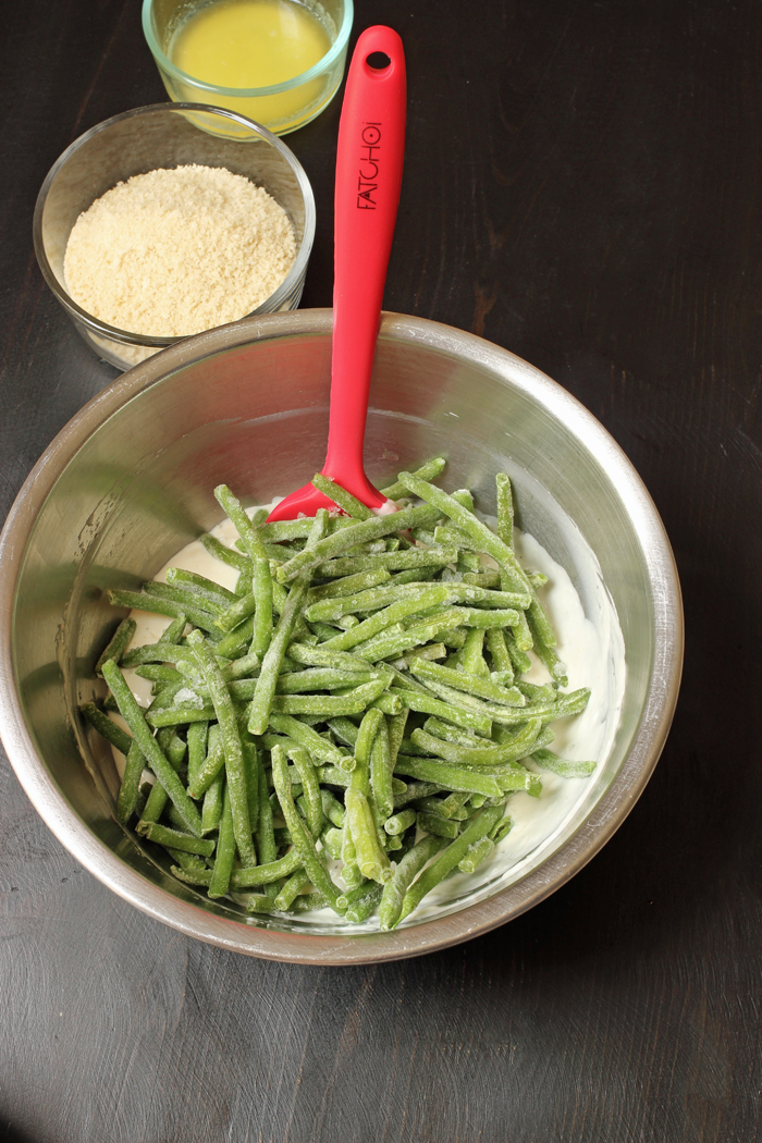 Green Bean Casserole in bowl