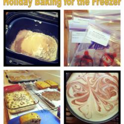 Holiday Baking Plan – FREE Download for Freezer Cooking
