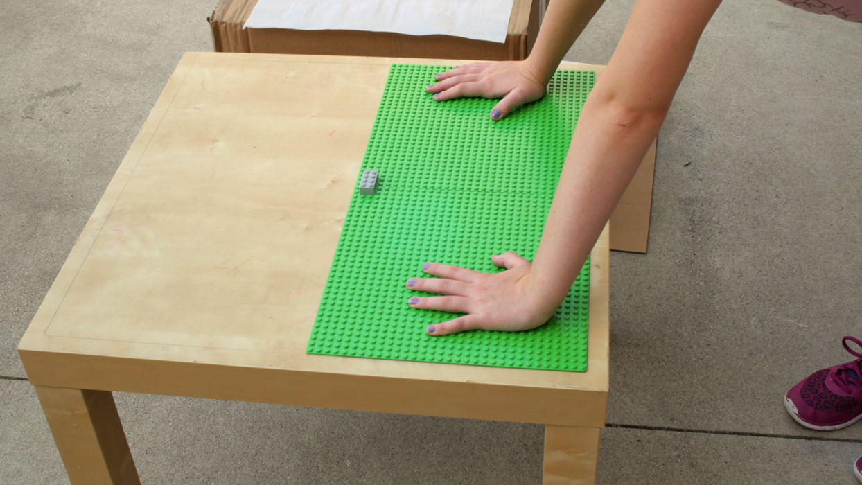 Diy On A Dime Build A Lego Table
