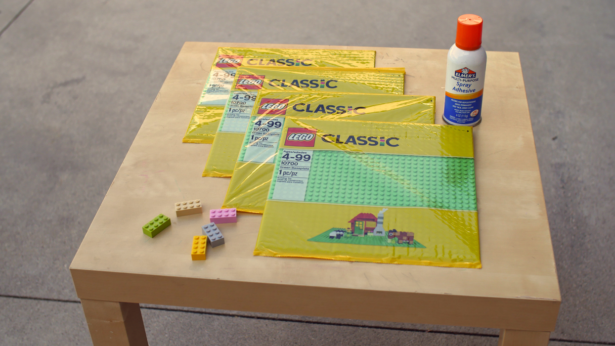 How to Build a Lego Table | Life as Mom