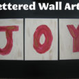 Lettered Wall Art