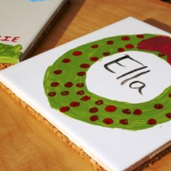 DIY on a Dime: Hand Painted Tile Trivets