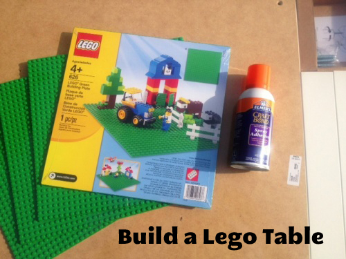 Build a Lego Table | Tutorial from Life as Mom