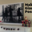 make a giant poster