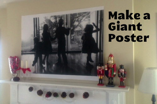 DIY on a Dime: Make a Giant Poster