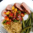 peach salsa pork tenderloin