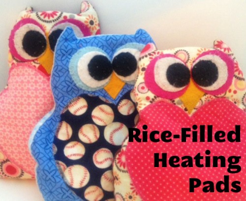 Diy On A Dime Rice Filled Heating Pads