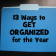 13 ways to get organized for the year
