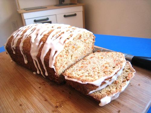 Glazed Carrot Bread lo res