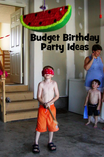 Budget Birthday Party Planning Ideas