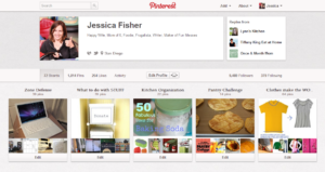 pinterest board for organzing
