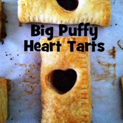 Big Puffy heart tart