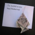 Dollar Bill origami fish
