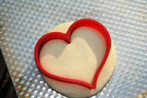 Heart Tealight Cutout