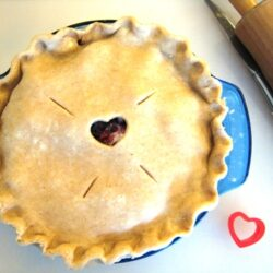 Put a little heart into it pie