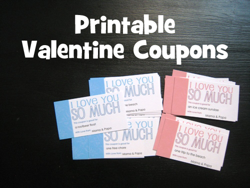 Valentine Coupons