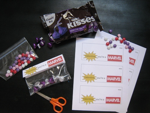DIY on a Dime: FREE Printable Marvel Valentine (Boy Friendly)