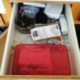 bathroom drawer ransacked