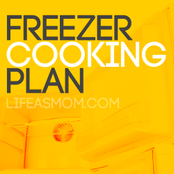 Mostly Meatless: A Free Printable Freezer Cooking Plan
