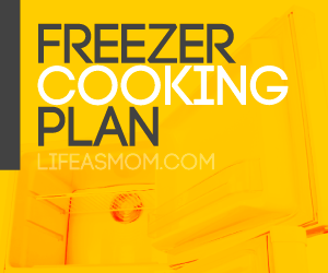 Mostly Meatless: A Free Printable Freezer Cooking Plan - easy recipes to fill the freezer with