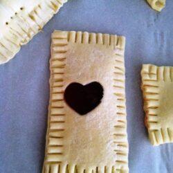 DIY on a Dime: Big Puffy Heart Tarts