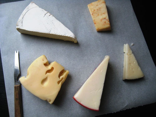 the cheese course fancy food