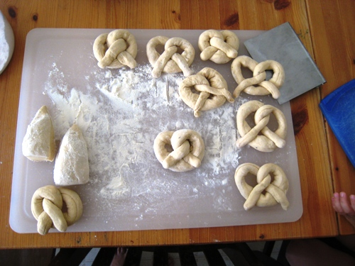 Garlic Herb Pretzels