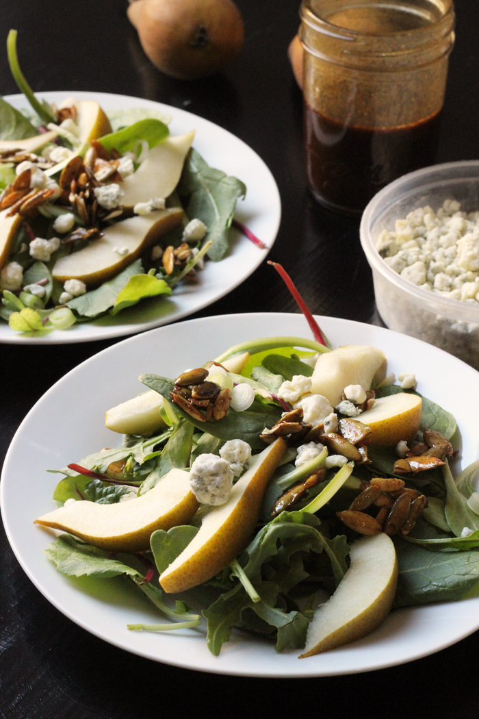 Pear and Blue Cheese Salad | Life as Mom