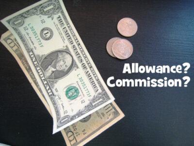 Allowance commission