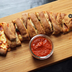 This Fish Shaped Calzone is a Fun Pizza Night Alternative